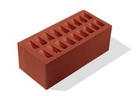 1. Кирпич лицевой керамический Красный полуторный, М125-150