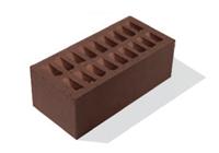 3. Кирпич лицевой керамический Шоколад полуторный, М125-150